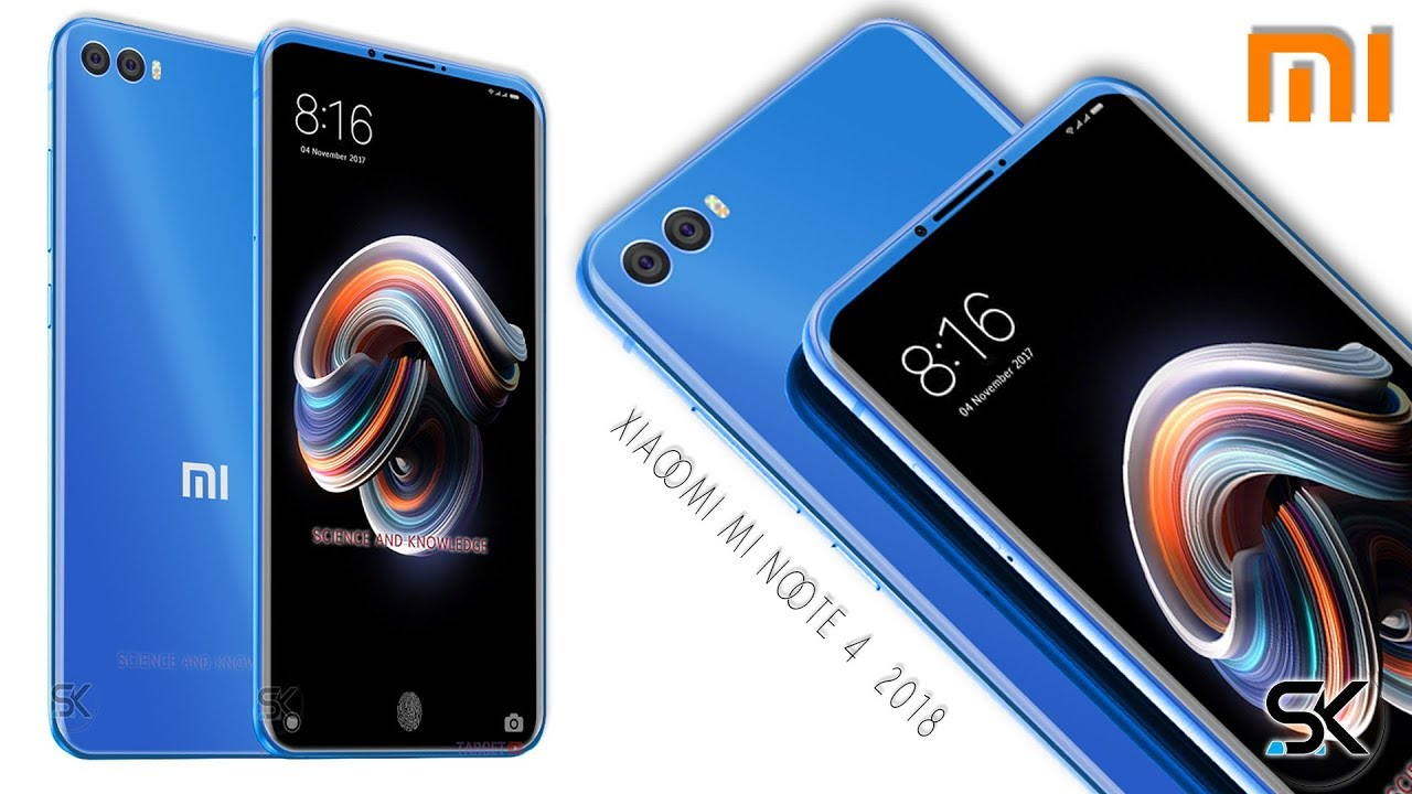 2018 xiaomi mi note 4 concept introduction with specifications ty. Black Bedroom Furniture Sets. Home Design Ideas