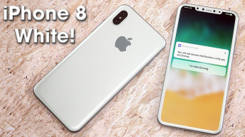 Apple iPhone 8 White for the First Time Shown