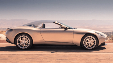 Aston Martin DB11 Volante Official - The Beautiful World is Above
