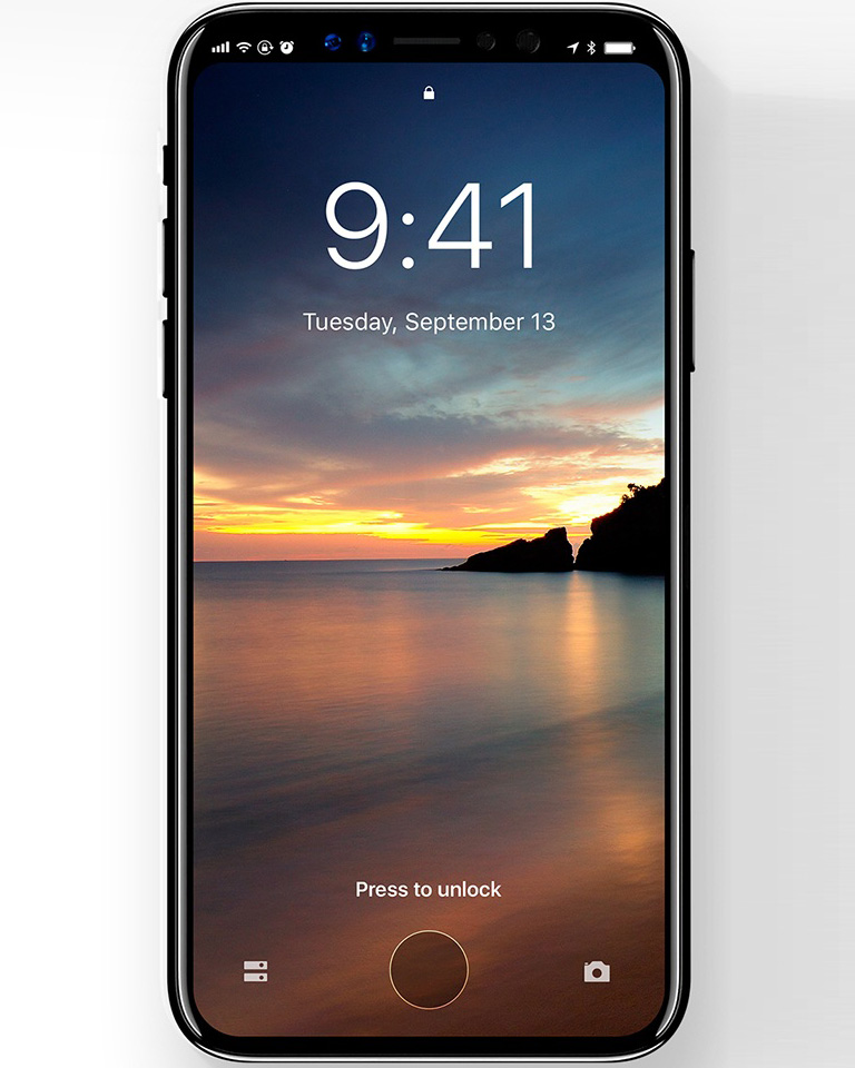 ios 12 appeared on apple iphone 8 user guide intro. Black Bedroom Furniture Sets. Home Design Ideas