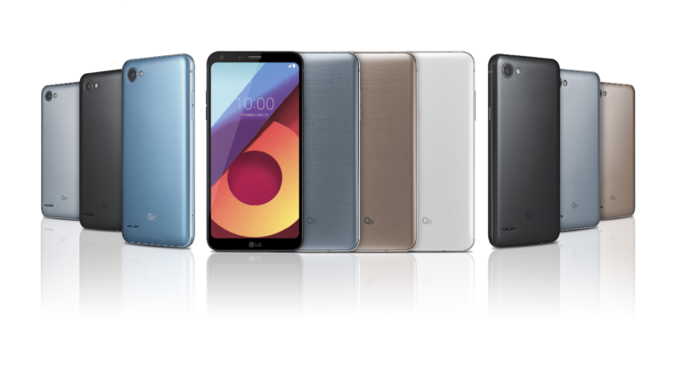 LG Q6, Q6+ and Q6α With FullVision display has been Officially Announced