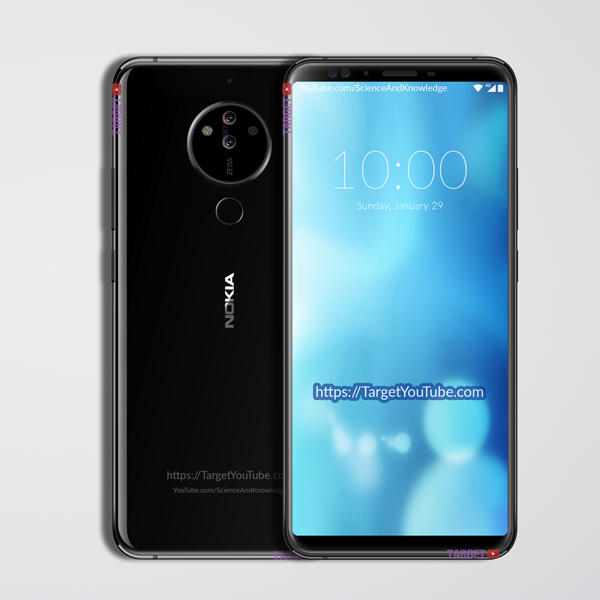 NOKIA 10 (2018) Leaked Design, Specifications, Price and Release Date