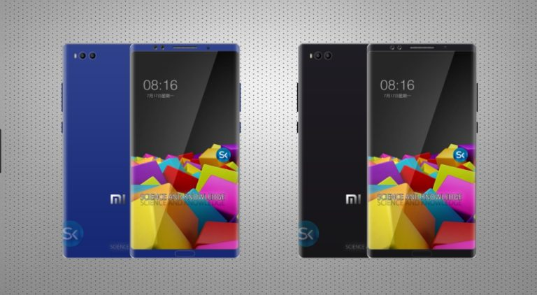 New Xiaomi Mi Note 3 Pro 2017 revealed concept design with Full Phone Specifications Price Release Date Features Specs