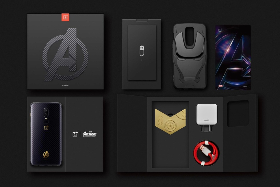 OnePlus 6 Avengers: Infinity War Limited Edition, Official 2018!!!