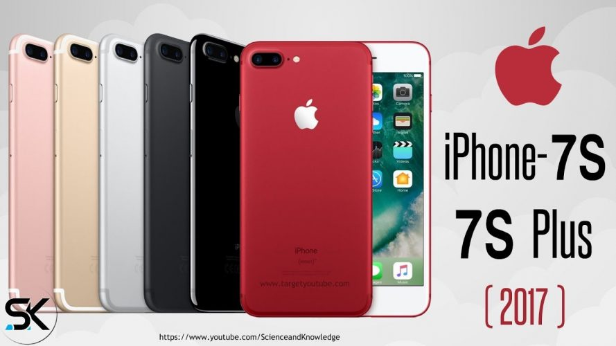 iPhone 7S and 7S Plus 2017 With A11 Chipset, Price, Release