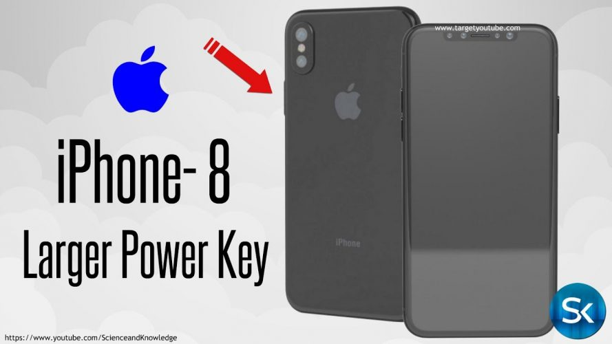 Apple iPhone 8 2017 Renders Show A Larger Power Key - Target