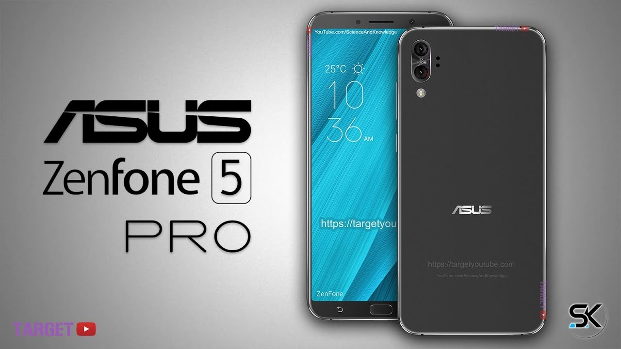 Asus Zenfone 5 Pro 2018 Design and Specifications - Target ...