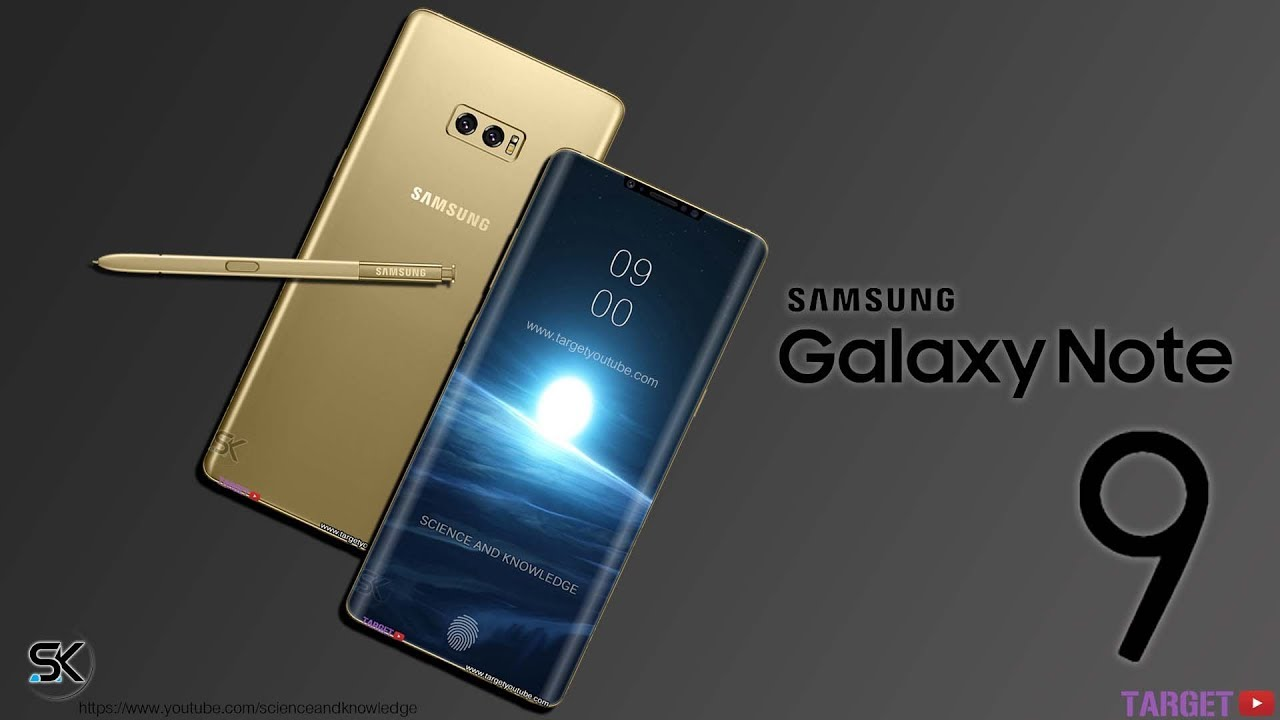 Samsung Galaxy Note 9 First Look Concept Design And