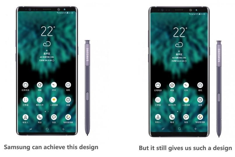 Galaxy S10 Leak shows the radical update from Samsung