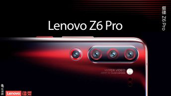 Lenovo Z6 Pro Promo video confirms notched display and UD fingerprint scanner