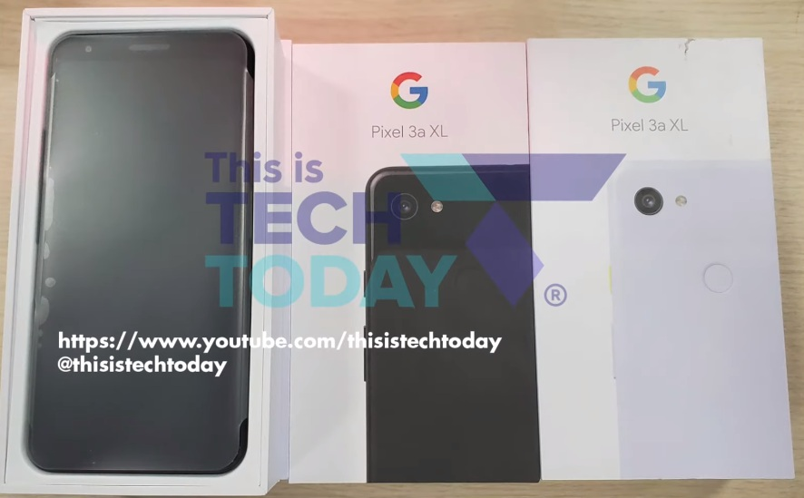 Google Pixel 3a XL appeared in the store before the official presentation