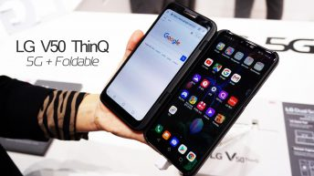 LG V50 ThinQ 5G Foldable Phone Official First Look and Review