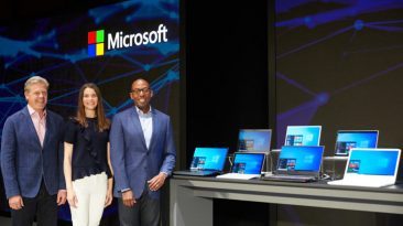 """Microsoft unveiled its vision of the """"OS of the future"""""""