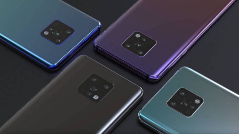 Stunning Huawei Mate 30 will be the first phone with Hongmeng OS