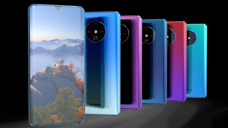 Huawei Mate 30 Pro demonstrates the new design and conquered beauty [VIDEO]