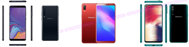 Samsung Galaxy A9s, Galaxy A8s and Galaxy A6s Buy Online