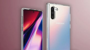 Samsung Galaxy Note 10: High-quality renders of the standard version