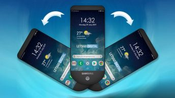 Samsung new smartphone has 3 extendable displays