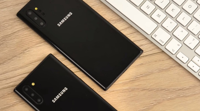 Samsung Galaxy Note 10 / Galaxy Note 10+ Showed in a Video