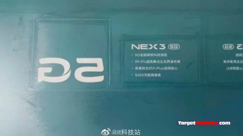 Vivo Nex 3 5G Phone Specifications, Features and Launch Date Confirmed