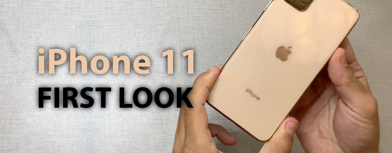 The first realistic iPhone 11 hands-on video appeared on the network