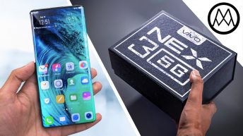 Vivo Nex 3 first look review video with the first waterfall screen