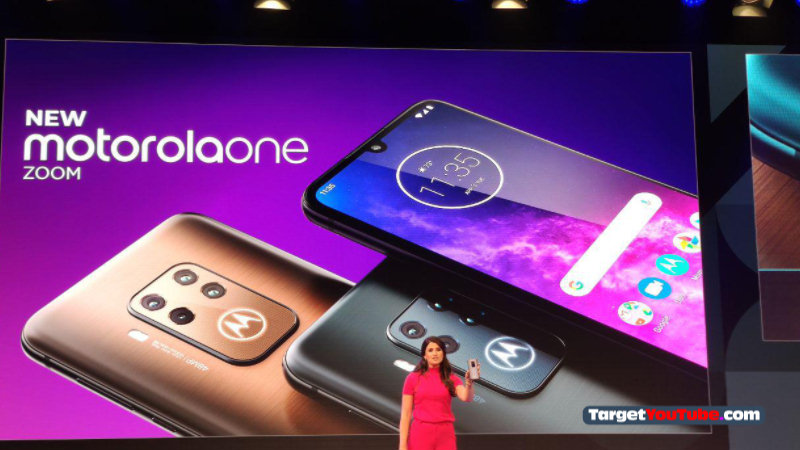 Motorola One Zoom Officially launched at IFA 2019 with features