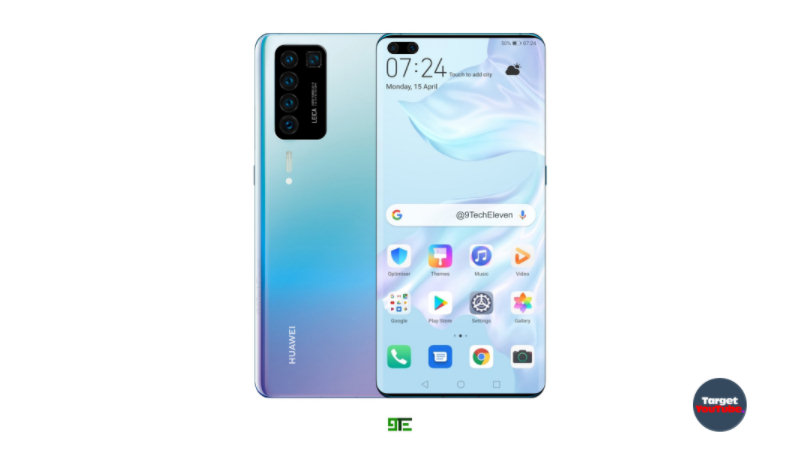 Smartphone Huawei P40 Pro (2020) set an example of Samsung Galaxy S11