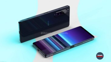 Smartphone Sony Xperia 5 Plus (2020): design and characteristics leaked