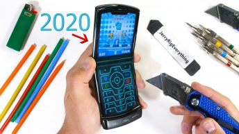 2020 Motorola Moto Razr: folding smartphones durability test [VIDEO]