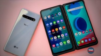 LG V60 ThinQ live video final design characteristics