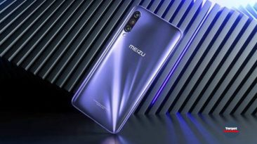 Meizu 17th Plus (2020) with 64 GB of RAM shown on a real photo