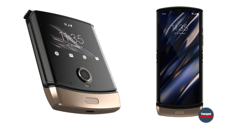 You have not seen such a Motorola Razr 2019 Smartphone