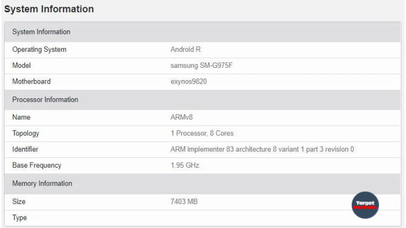 Samsung tests OS Android 11 Galaxy smartphones