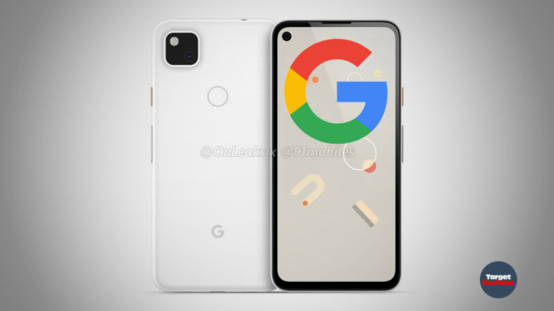 Smartphone Google Pixel 4a (2020) first look and phone specifications