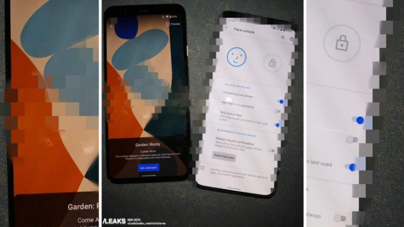 Google Pixel 5 XL poses live 8 months before release