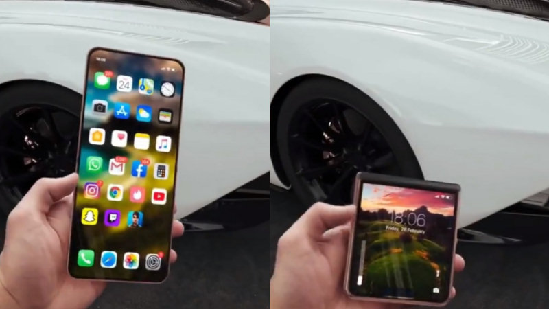 iPhone 12 Flip: Apple's new foldable clamshell revealed [VIDEO]