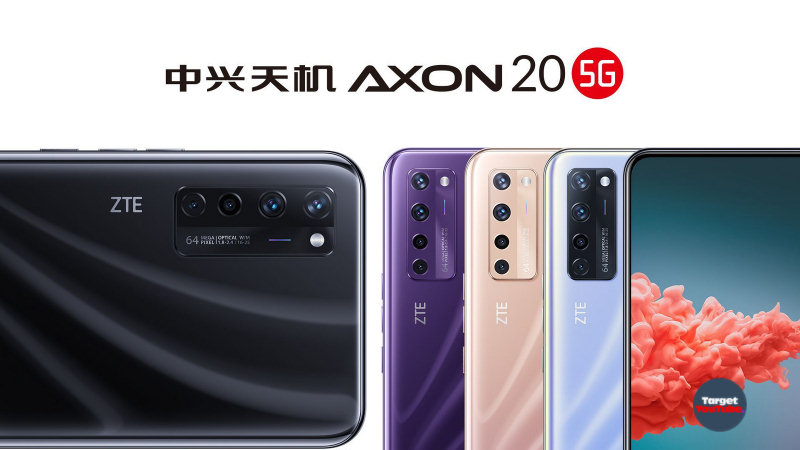 Introducing ZTE Axon 20 5G: worlds first sub-screen camera smartphone