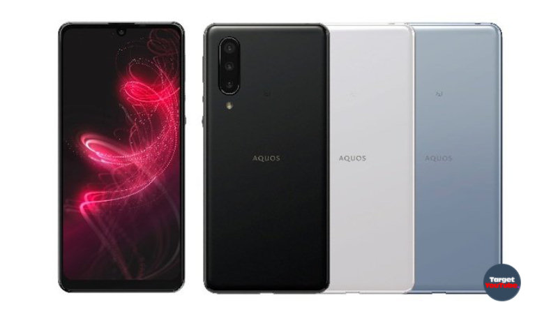 Sharp Aquos 5G 2020 Smartphones - 240Hz screen, IP68, Android 11 & More...