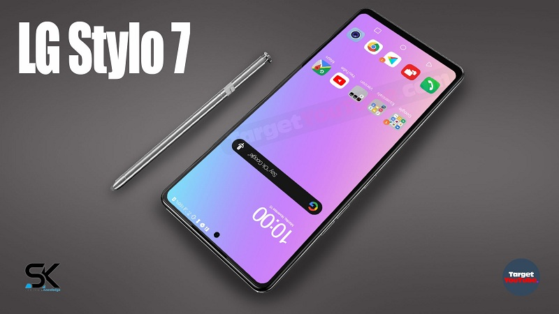 LG Stylo 7 (2021) with a stylus will receive an original design