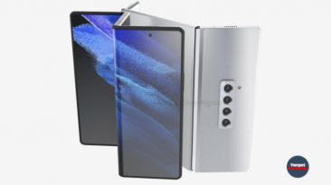 Samsung Galaxy Z Fold 3 (2021) showed in two versions revealed