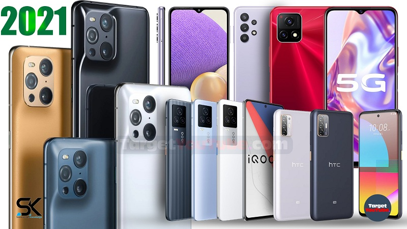 top,new,upcoming smartphones 2021,best,5g mobile phones