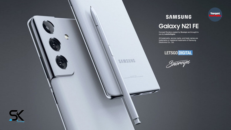 Samsung Galaxy Note 21 FE (2021) first unboxing look and introduction