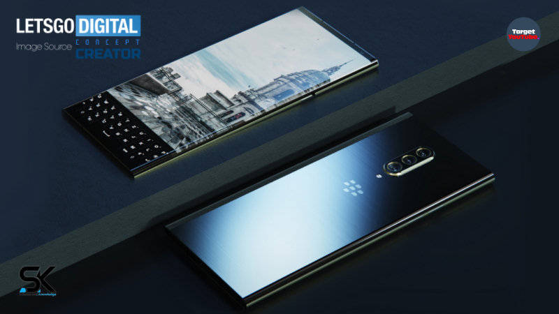 BlackBerry KEY3 (2021) new design with edge display and latest keyboard